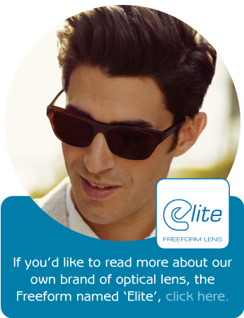 elite freeform lenses from south devon optical